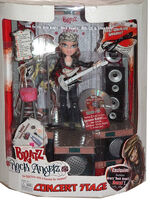 Bratz Rock Angelz Concert Stage with Roxxi