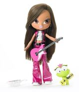 Bratz Big Kidz Music Stars Yasmin Doll