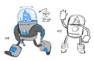 Space suit concepts