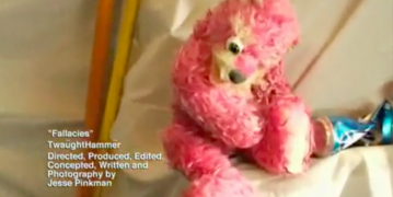 Fallacies Pink Teddy Bear