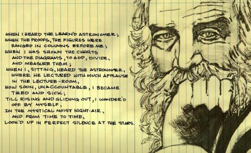 File:0.5 Whitman poem and sketch.jpg