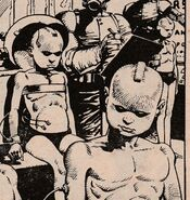 Rogue Trooper as a child