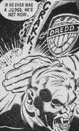 Dredd kills a vampire