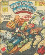 2000 AD prog 313 cover