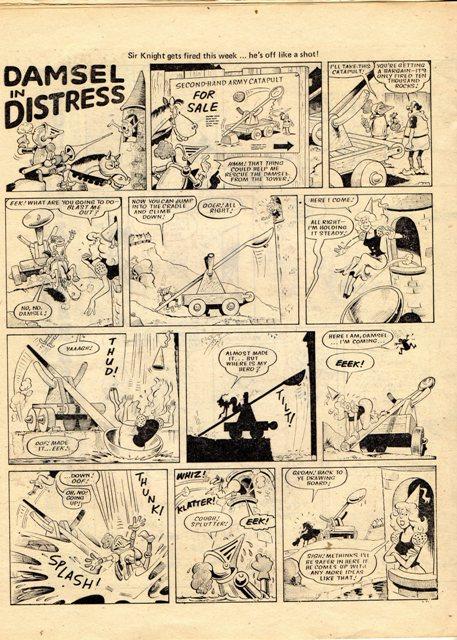 the unending phenomena damsel in distress