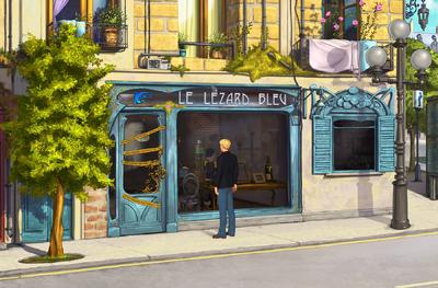 Le Lezard bleu exterior