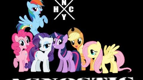 PMV NEW YORK HARDCORE PONIES!
