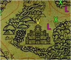 Zaulia Temple Map