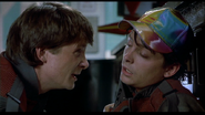 Marty McFly and Marty McFly, Jr.
