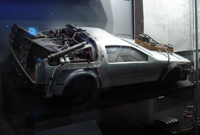File:DeLoreanModelRear.jpg