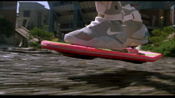 The old-school ... er, new school? HOVERBOARD