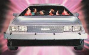 8 passenger DeLorean