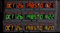 Time Circuits1 BTTF