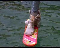 Hoverboard-water