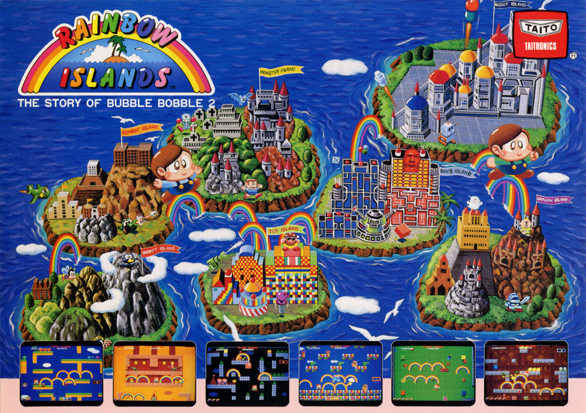 Rainbow Islands  Player