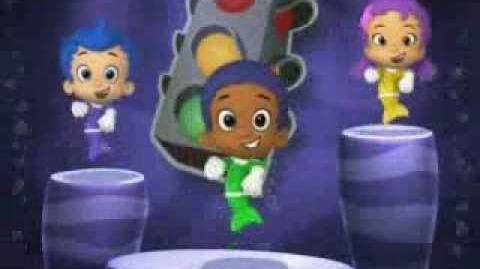 video bubble guppies tunes 4 color dance bubble