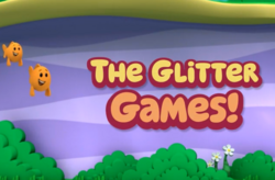 Glitter Games Title Card