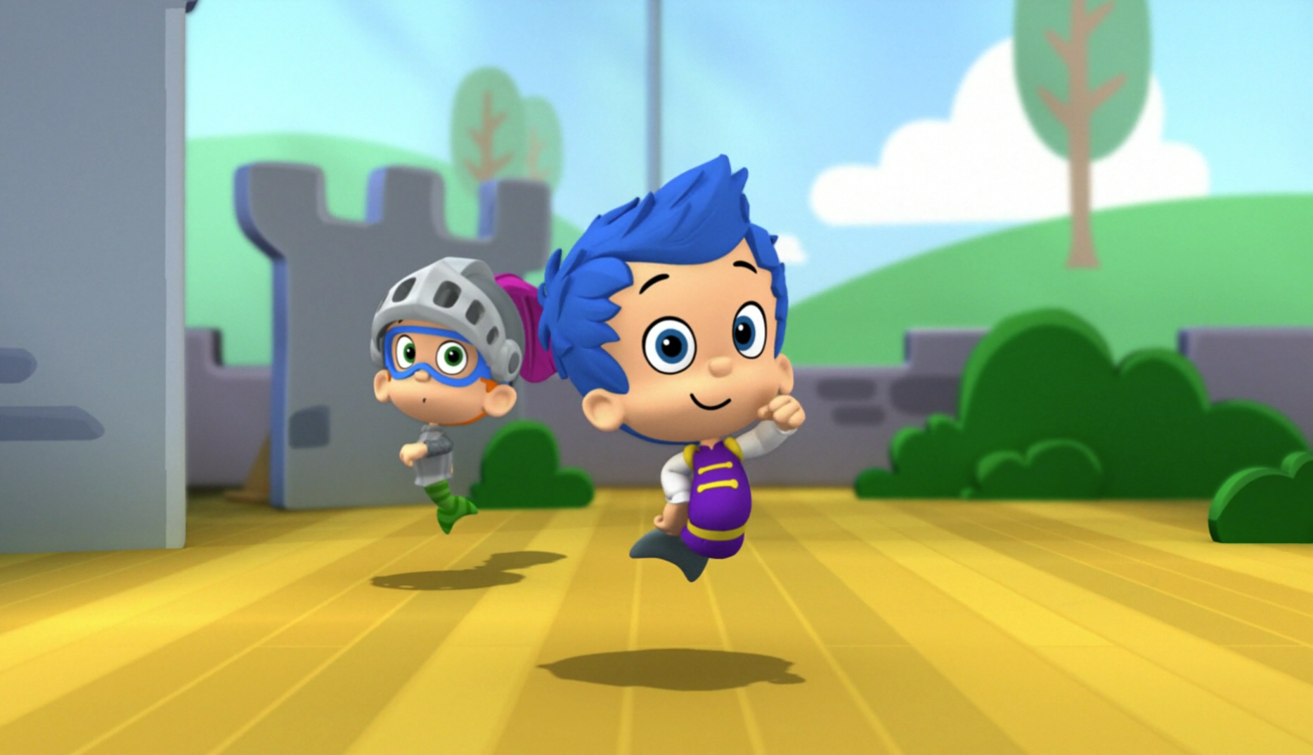 The super ballet bowl images bubble guppies wiki - Bubulles guppies ...