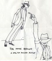 Buckethead's MJ Drawing