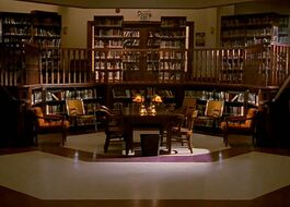 Sunnydale High School Library
