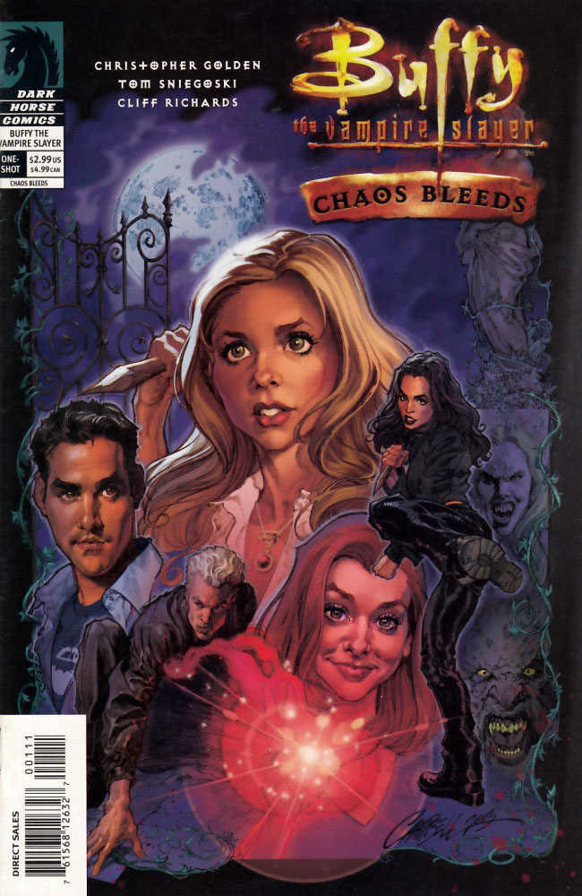 from Gael was buffy really dating the immortal