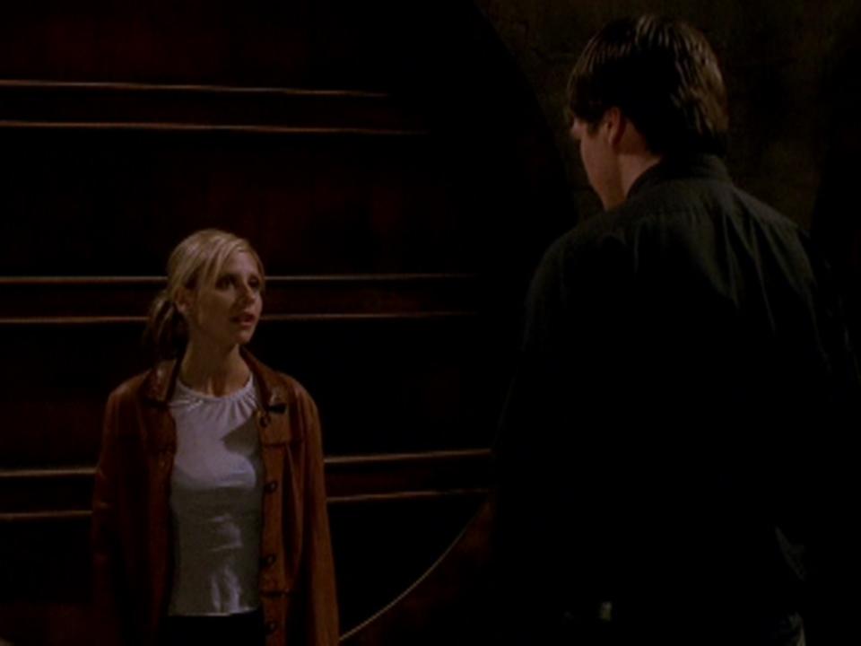 Resultado de imagem para Buffy season 07 Caleb vs Buffy