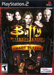 Buffy the Vampire Slayer - Chaos Bleeds Coverart