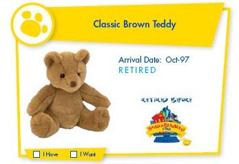 Classic Brown Teddy
