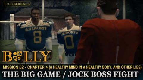 Jock Boss Fight - Mission -52 - Bully-The Big Game