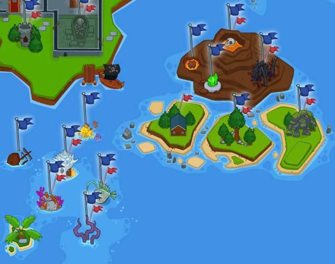 Island five banner