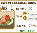 Sweet Seasonal Ham