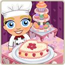 Taste test valentine cake