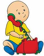Caillou phone1