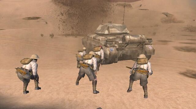 File:Soldiers taking cover on Crusader CoD2.jpg