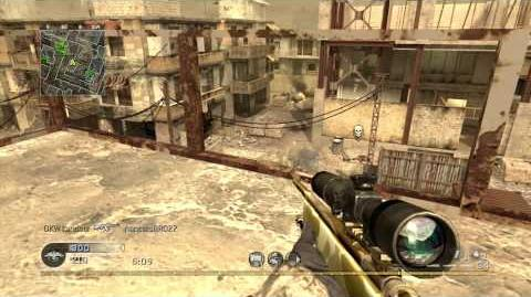 Call of Duty 4 - Team Deathmatch on Backlot