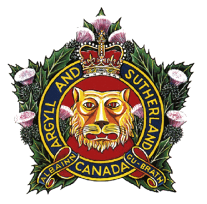 A & SH of C cap badge