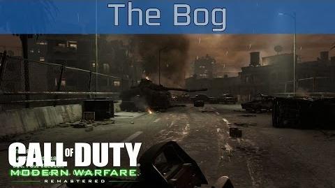 Call of Duty 4 Modern Warfare Remastered - The Bog Walkthrough HD 1080P 60FPS