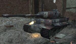 Tiger I CoD