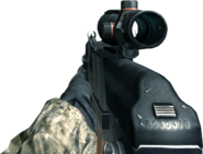 AK-74u ACOG Scope CoD4