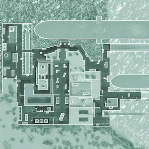 Sub Base minimap MW2