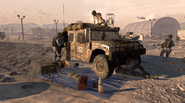 M1026 HMMWV repaired MW2