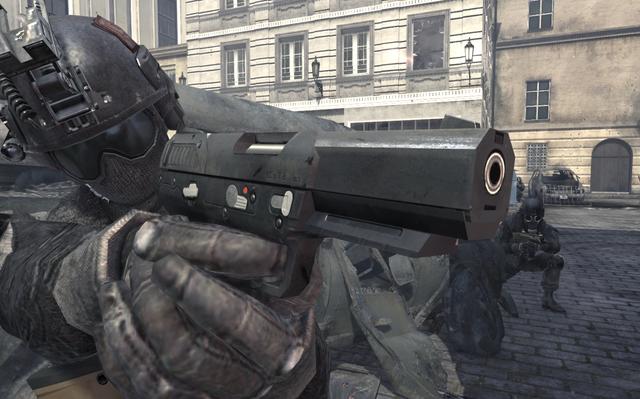 File:Russian Commando aiming Five Seven Survival Mode MW3.png