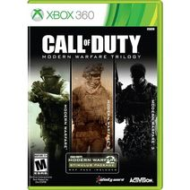 Call of Duty Modern Warfare Trilogy Xbox 360 Boxart