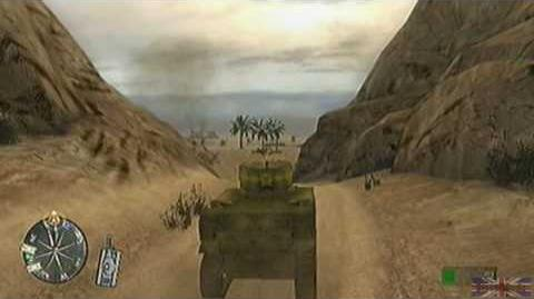 Call of Duty 2 Big Red One - Tunisia, Mission 2