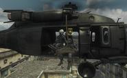Riot Shield Squad roping in Fallen MW3