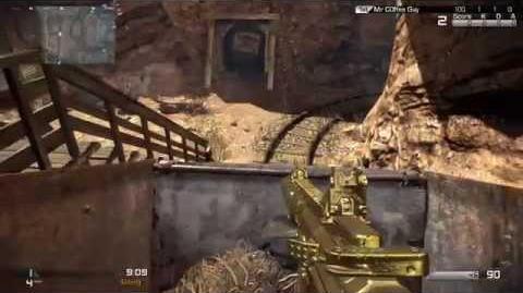 COD Ghosts Nemesis Gold Rush Gameplay Mine Carts Team Deathmatch (25-4)