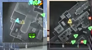 Ghosts vs No Ghost Minimap BO2