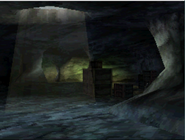 View of the underground caverns MW3DS mountains