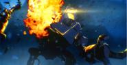 Giant Robot Destroyed BO3
