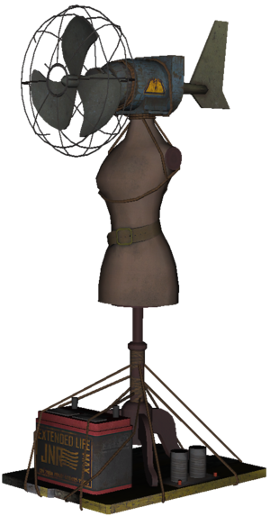 Turbine Zombies model BOII